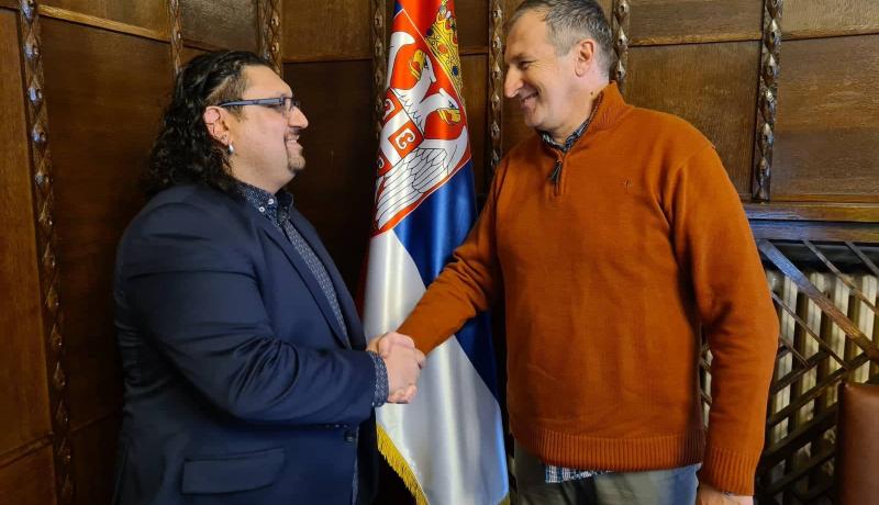 Радни састанак са саветником за културу председника Републике Србијe