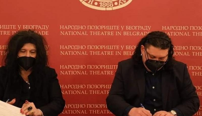 Суботичко Народно позориште потписало је протокол о сарадњи са Народним позориштем из Београда
